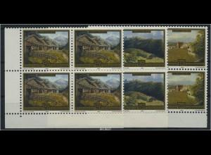 LIECHTENSTEIN 1993 Nr 1056-58 Viererblock postfr (87248)
