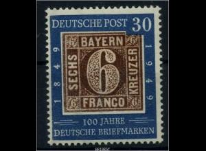 BUND 1949 Nr 115f1 postfrisch (88088)