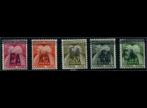 ALGERIEN 1962 Porto Nr 49-53 postfrisch (88153)