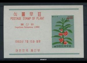 KOREA SUED 1965 Block 214 postfrisch (88471)