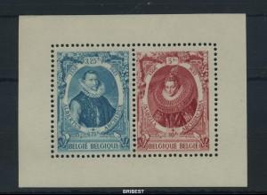 BELGIEN 1942 Block 17 postfrisch (88503)