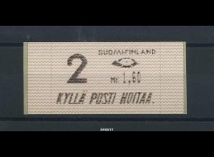 FINNLAND 1991 ATM Nr 10.1 Z2 postfrisch ME 23.- (88685)