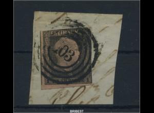 PREUSSEN 1855 Nr 2 Vierring-Stpl 103 - BERLIN (88741)