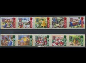 JERSEY 2001 Nr 1002-1011 postfrisch (88896)