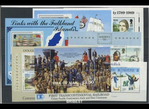 ISLE OF MAN Lot postfrisch auf Steckkarte ME 35.- (88909)