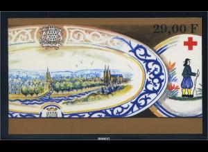FRANKREICH 1990 MH20 postfrisch (89019)