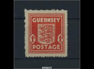 BES. IIWK. GUERNSEY 1941 Nr 2 postfrisch (89166)