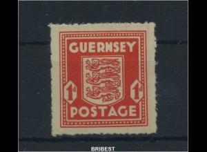 BES. IIWK. GUERNSEY 1941 Nr 2 postfrisch (89173)