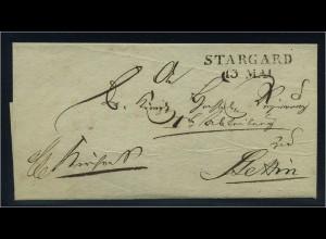 Vorphilabrief STARGARD ohne Inhalt (91443)