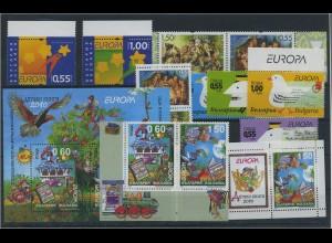 BULGARIEN Lot aus 2007-2010 postfrisch (91713)