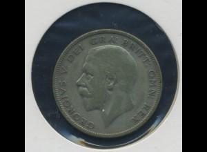 GROSSBRITANNIEN - Half Crown 1928 Georg V. (92455)