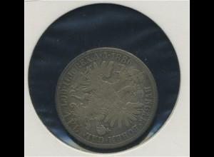 OESTERREICH - 1Florin 1886 ss (92501)