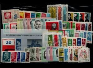 DDR Jahrgang 1963 postfrisch kpl. ME 60.- (93957)