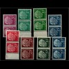 BUND 1954, Nr. 179-260y PAARE postfrisch (94051)