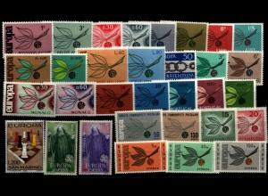 CEPT Jahrgang 1967 postfrisch (94118)