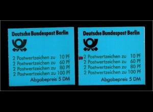 BERLIN 1989 MH 15 oZ + mZ postfrisch ME 170.- (94136)