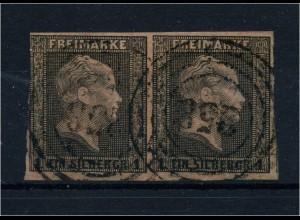 PREUSSEN 1850, Nr. 2 Paar gestempelt (95685)