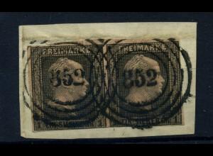 PREUSSEN 1850, Nr. 2 Paar gestempelt (95692)