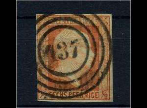 PREUSSEN 1850, Nr. 1 gestempelt (95747)