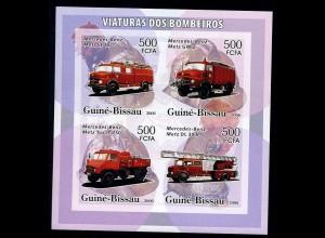 GUINEA-BISSAU Motivblock: AUTOS postfrisch (95947)