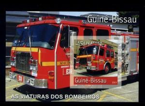 GUINEA-BISSAU Motivblock: AUTOS postfrisch (95949)