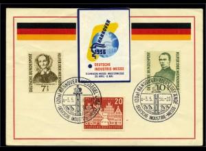 BUND 1956 SST-Beleg ansehen (96085)