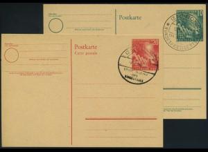 BUND 1949, GS PSo1+2 gestempelt (96318)