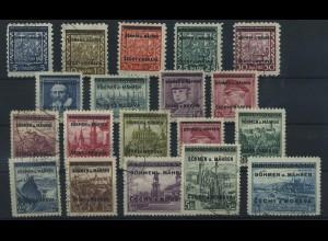 BOEHMEN & MAEHREN 1939, Nr. 1-19 (96507)