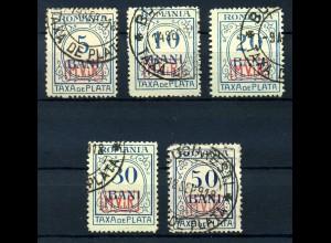 MV. RUMAENIEN 1918, Nr. P1-5 (96802)