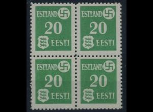 ESTLAND 1941, Nr. 2x (96857)