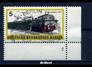 BERLIN 1971 Nr 379 Eckr mit FORMNUMMER 2 (96995)