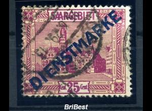 SAAR 1923 Nr D14 IV sauber gestempelt (97044)