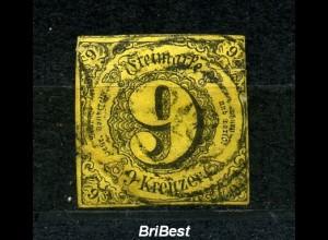 THURN+TAXIS 1853 Nr 10 sauber gestempelt (97068)