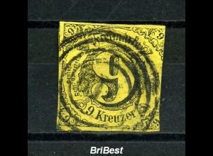 THURN+TAXIS 1853 Nr 10 sauber gestempelt (97070)
