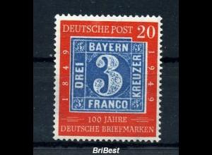BUND 1949 Nr 114 II sauber postfrisch (97167)