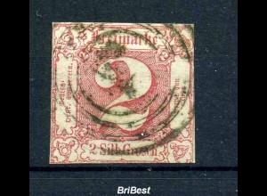 THURN+TAXIS 1859 Nr 16 sauber gestempelt (97445)