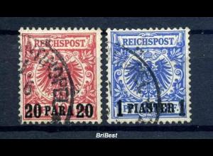 DP TUERKEI 1889 Nr 7+8 sauber gestempelt (97532)