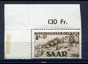 SAAR 1949 Nr 262 Typ II postfrisch (97739)