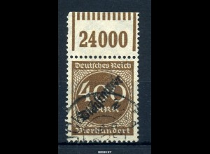 DEUTSCHES REICH 1938 Nr D80 OR W sauber gestempelt (30.-) (97742)