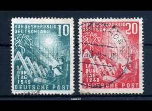 BUND 1949 Nr 111-112 sauber gestempelt (97746)