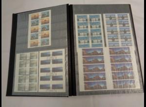 BUND Slg. MH/Folienblätter aus 2001/2014 gestempelt (800011)
