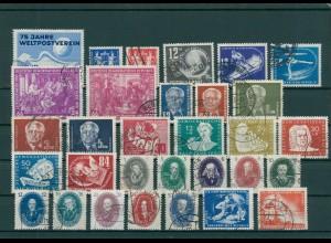 DDR Sammlung 1949-1955 gestempelt kpl. (201717)