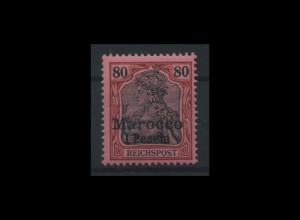 Deutsche Post in Marokko Nr 15 postfrisch