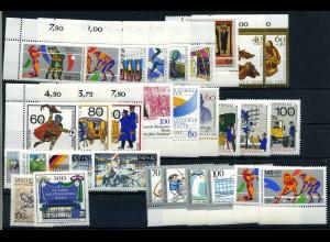 BERLIN Lot aus 1989-1990 postfrisch (102025)