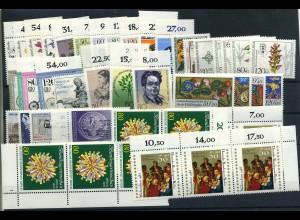 BERLIN Lot aus 1983-1985 postfrisch (102027)