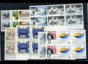 BERLIN Lot aus 1990 postfrisch (102028)