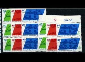BERLIN 1980 Nr 621-623 postfrisch (102115)