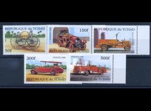 TSCHAD 1998 Nr 1863-1868 postfrisch (102355)