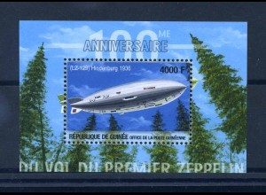GUINEA 2002 Block 719 postfrisch (102383)