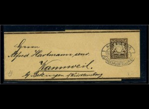 BAYERN 1896 Brief/Karte (102581)